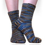 Beginner Socks, Worsted Weight
