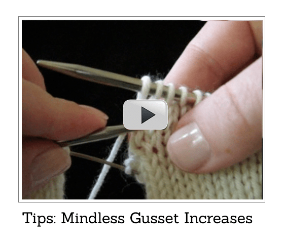 Click to Play - Gusset Increasing Tip