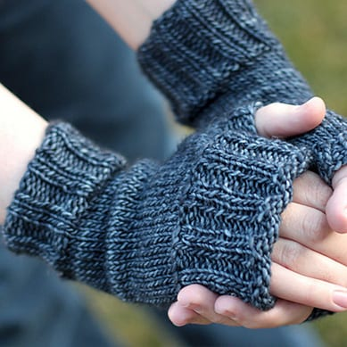 Ragtop Mitts in charcoal gray