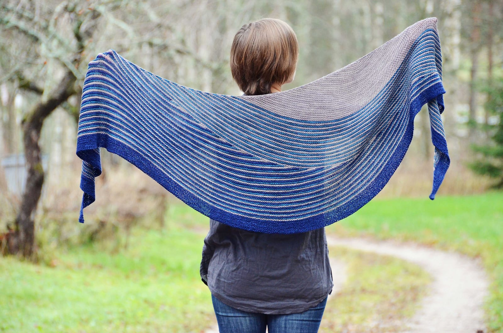 Color Affection Shawl by Veera Välimäki