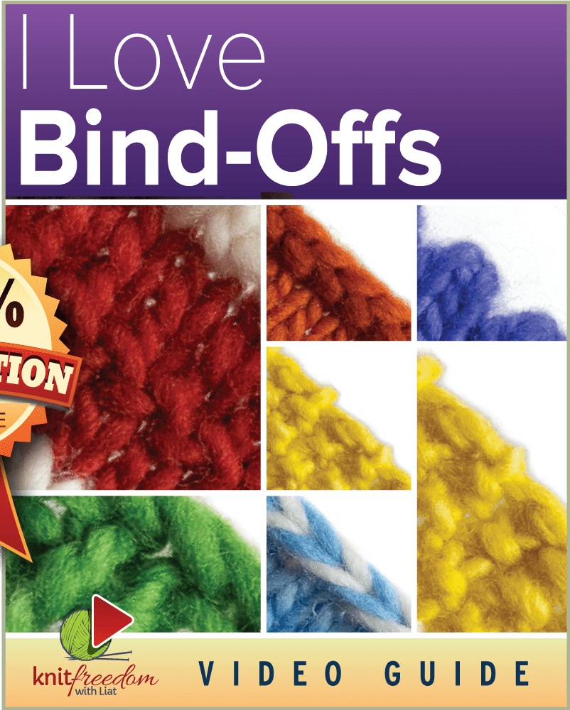 I Love Bind Offs 45 Perfect Bind Offs For Your Knitting Projects
