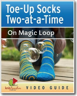 Toe Up Two At A Time Socks Knitfreedom Com