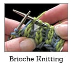 Learn Brioche Knitting Video Class Thumbnail