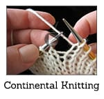 How to Knit Continental Video Class Thumbnail