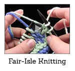 How to Knit Fair Isle Video Class Thumbnail