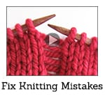 How to Fix Knitting Mistakes Video Class Thumbnail
