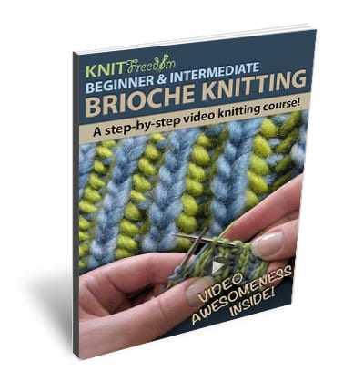 Brioche Knitting Video E-Book