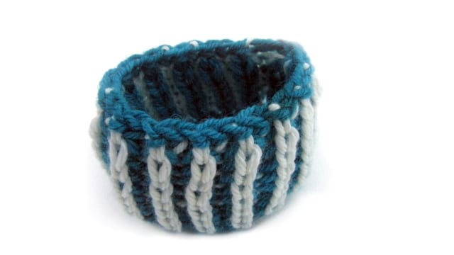 Knitting With Two Colors In The Round : Online class brioche knitfreedom