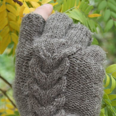 Beer Gloves in gray