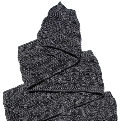 Knitting Scarf Patterns For Men : Knitting For Men - The 10 Best Knitting Patterns For Men KnitFreedom