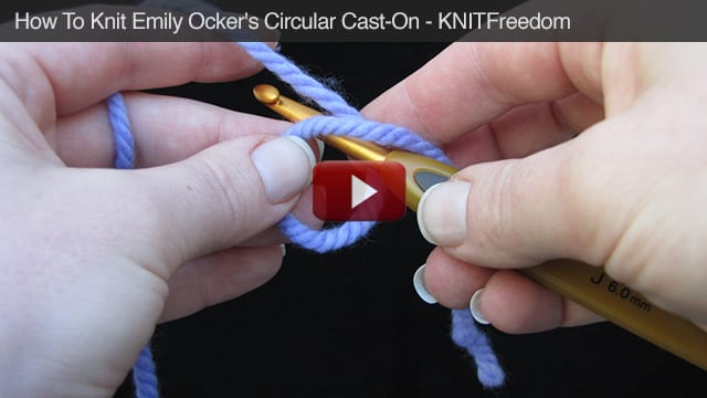 How To Knit Emily Ocker's Circular Cast-On