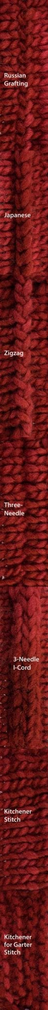 Seaming Bind-Offs Sampler