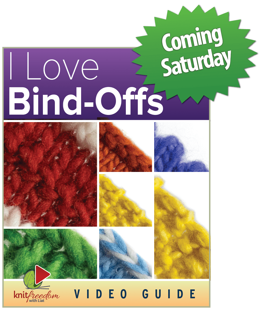 I Love Bind-Offs ebook coming Saturday