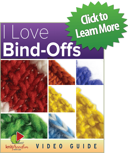 I Love Bind-Offs - On Sale Now
