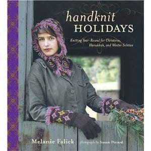 handknit holidays book cover