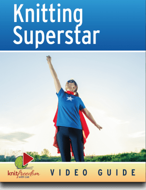 Become a Knitting Superstar: Ultimate Video Course ebook cover