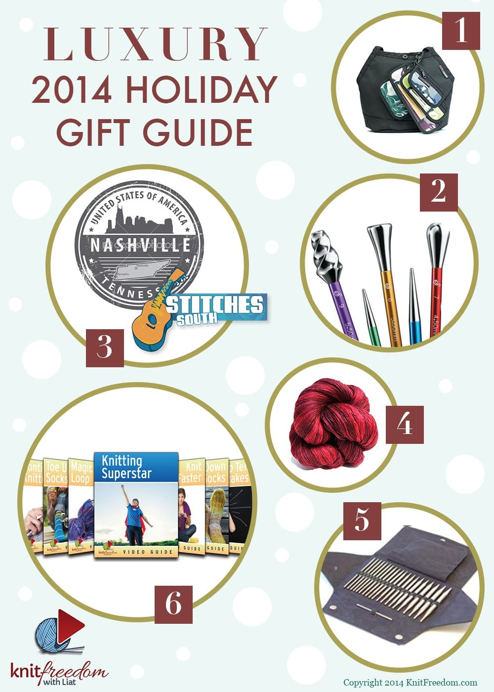 Luxury Gift Guide for Knitters