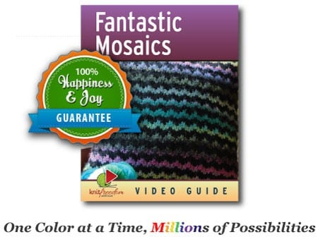 Fantastic Mosaics ebook cover with 100% Happiness and Joy Guarantee