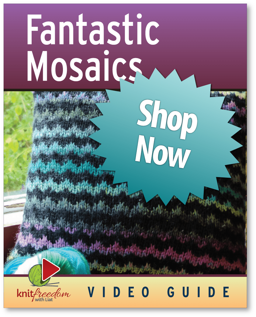 Ebook cover of Fantastic Mosaics with a blue shop-now badge