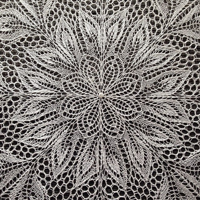 Herbert Niebling's Lyra is a perfect example of the stunning projects you can make with lace