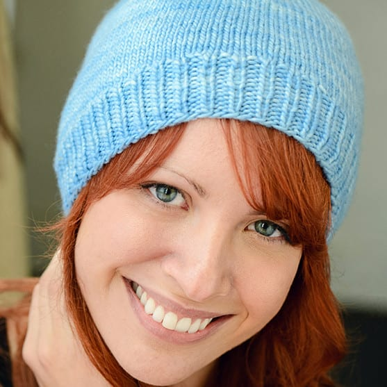 Hat Beginner Slouchy For Magic Loop Worsted Weight