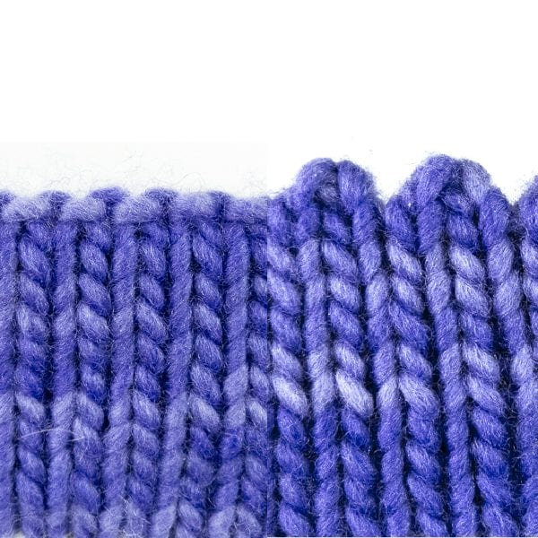 Hemmed Edge Bind-Off